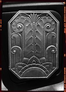 Art Deco Theatre Seat detail