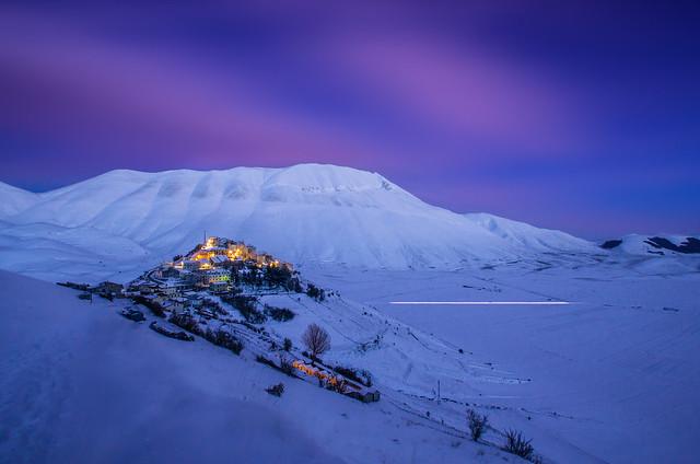 Winter in Castelluccio