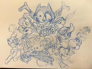 Proofpudding Art Artwork Illustration Drawing Doodle Flickr