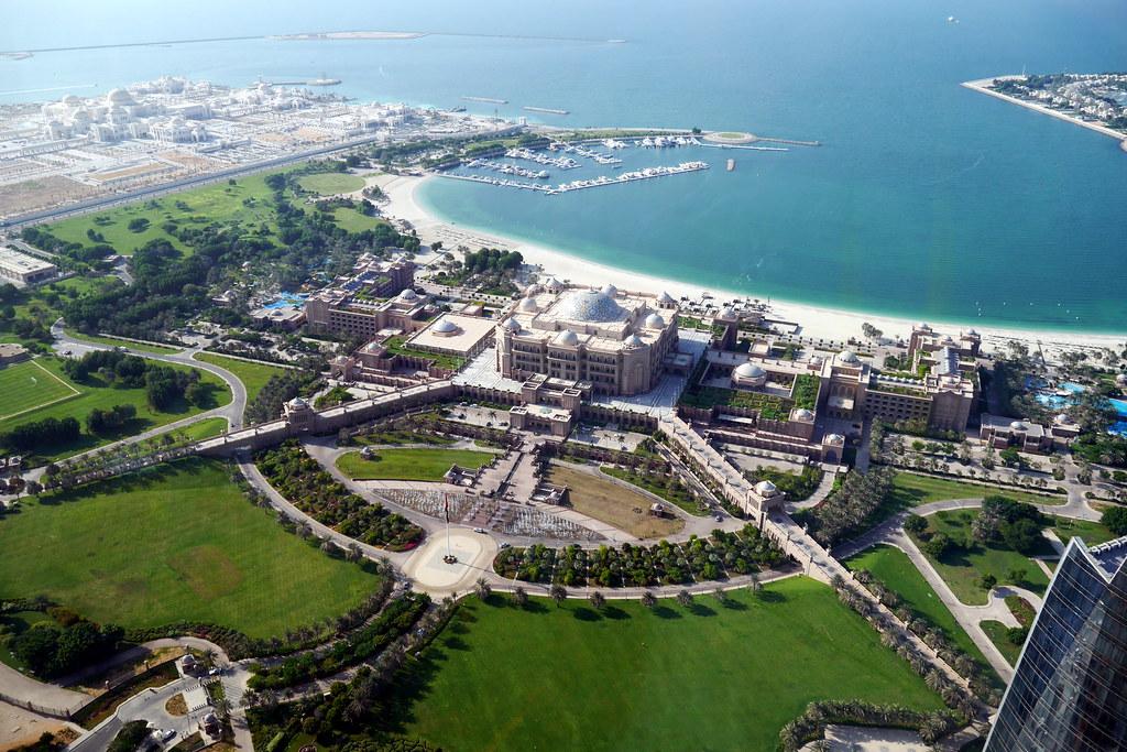 Emirates Palace Hotel View