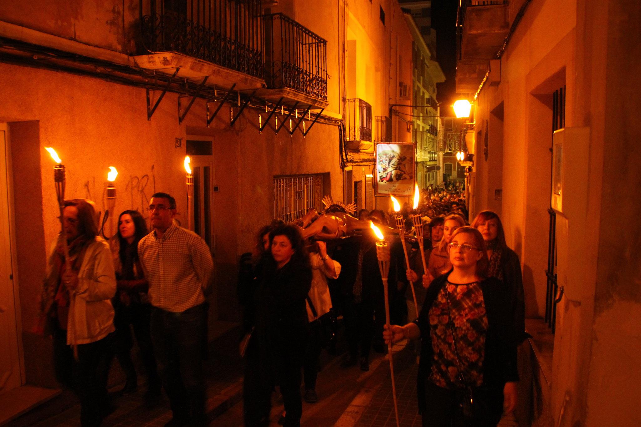 (2014-04-01) -  V Vía Crucis nocturno - Javier Romero Ripoll (89)