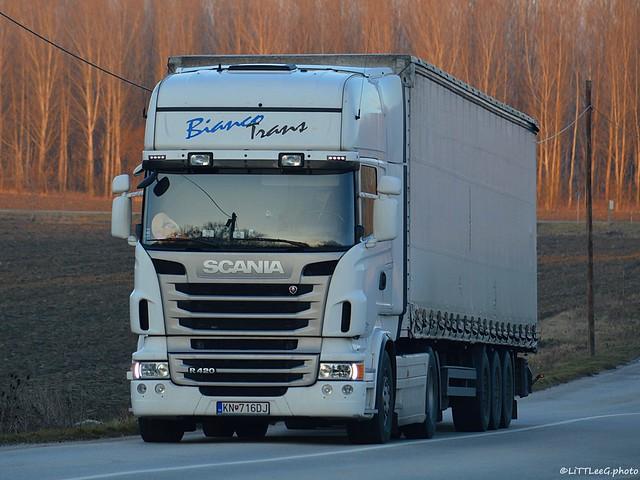 Scania R420 II Topline Bianco Trans (SK)
