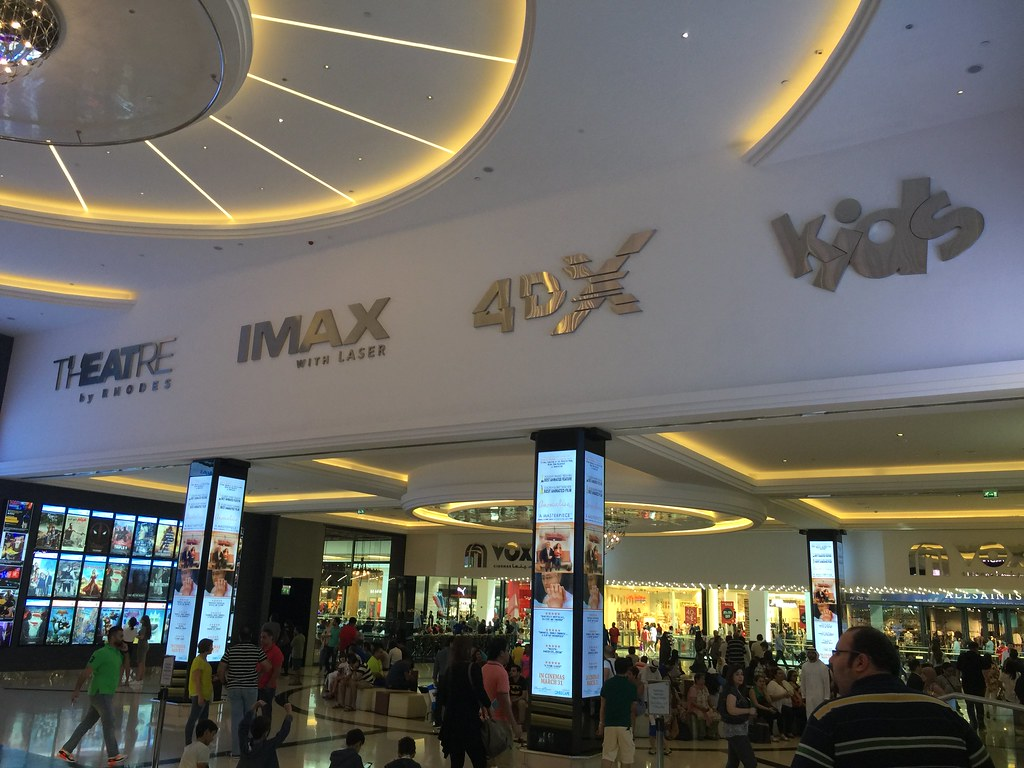 Vox Cinemas in the Mall of the Emirates