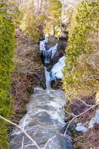 ohio nature water river village gorge clifton greenecounty