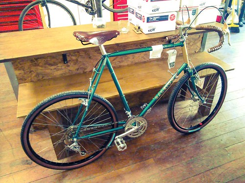 That sweet restored Raleigh Portage has sold and is being shipped to California.