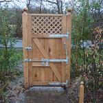 Single Oak Gate