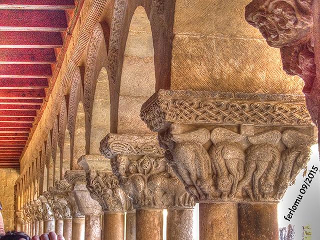 Santo Domingo de Silos (Burgos) 13 capiteles