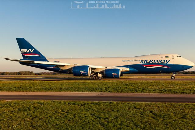 VQ-BVB Silkway West Azerbaijan Cargo Boeing 747-8F