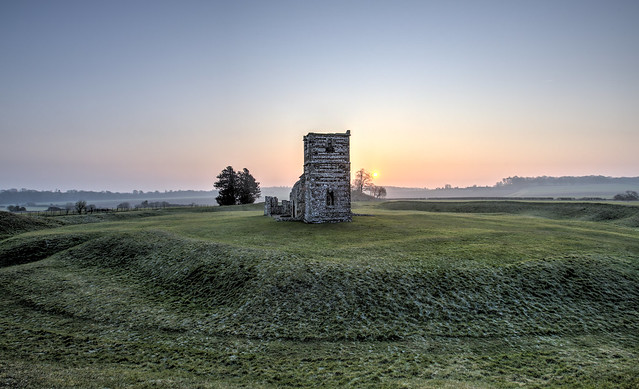 Dawn at Knowlton