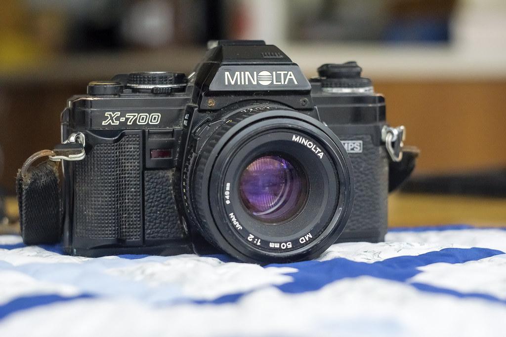 Camera Review Blog No. 34 - Minolta X-700