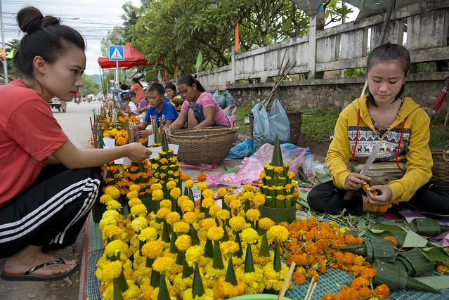 LAO261 Boun Khao Pansa - Luangprabang 202 - Laos