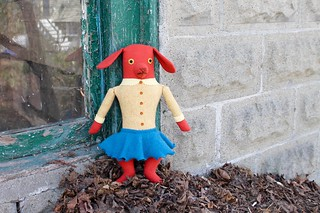 orange dog girl | by Mimi K