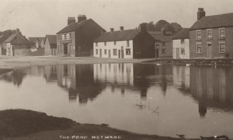 Wetwang village pond 1910 (archive ref PO-1-153-2)