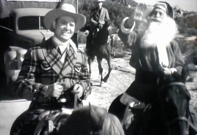 Gene Autry and Santa