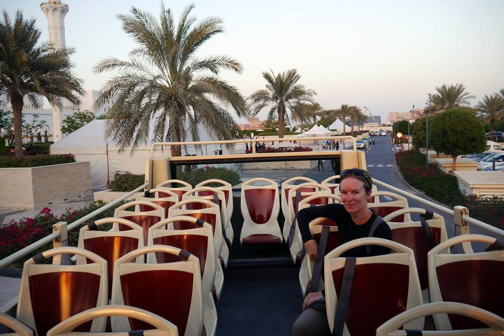 Back on Tour Bus