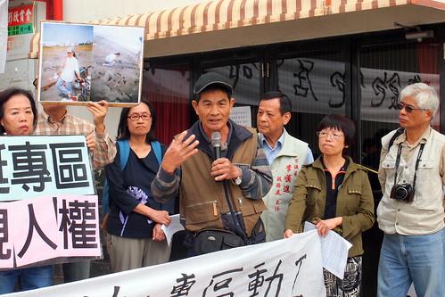 許順良創作[西南風]歌詞述說過往大林蒲的海邊生活和對政府的抗議。攝影:李育琴 | by TEIA - 台灣環境資訊協會