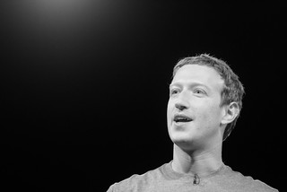 Mark Zuckerberg | by Alessio Jacona