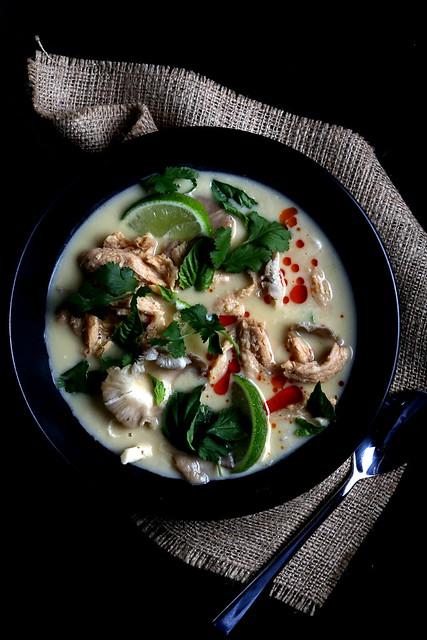 Olives for Dinner | Vegan Tom Kha Gai