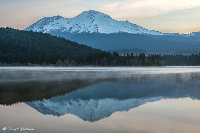 Sunrise with Mt. Shasta