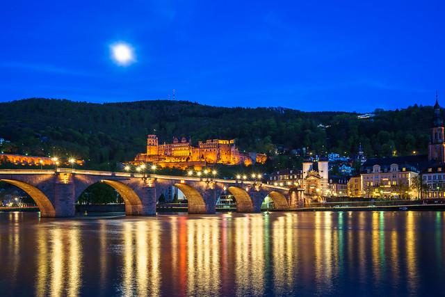 Heidelberg Nightview