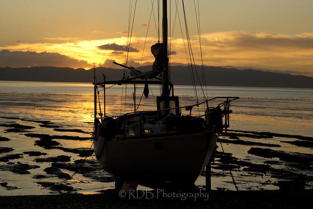 Kuranui Sunset and Silhouettes 2