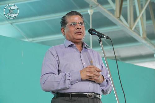 HS Sirohi, IAS, from Katwaria Sarai, expresses his views