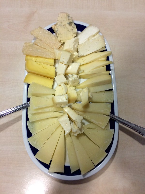 Cheese Plate in Arzua