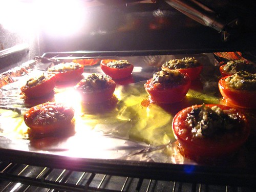 Slow-Roasted Vine-Ripened Tomato with *HOLY* Basil & Garlic Fillings + Recipe