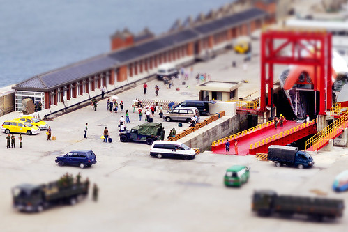 Tilt-shift ─ Jhongjhu Port | by *Yueh-Hua 2019