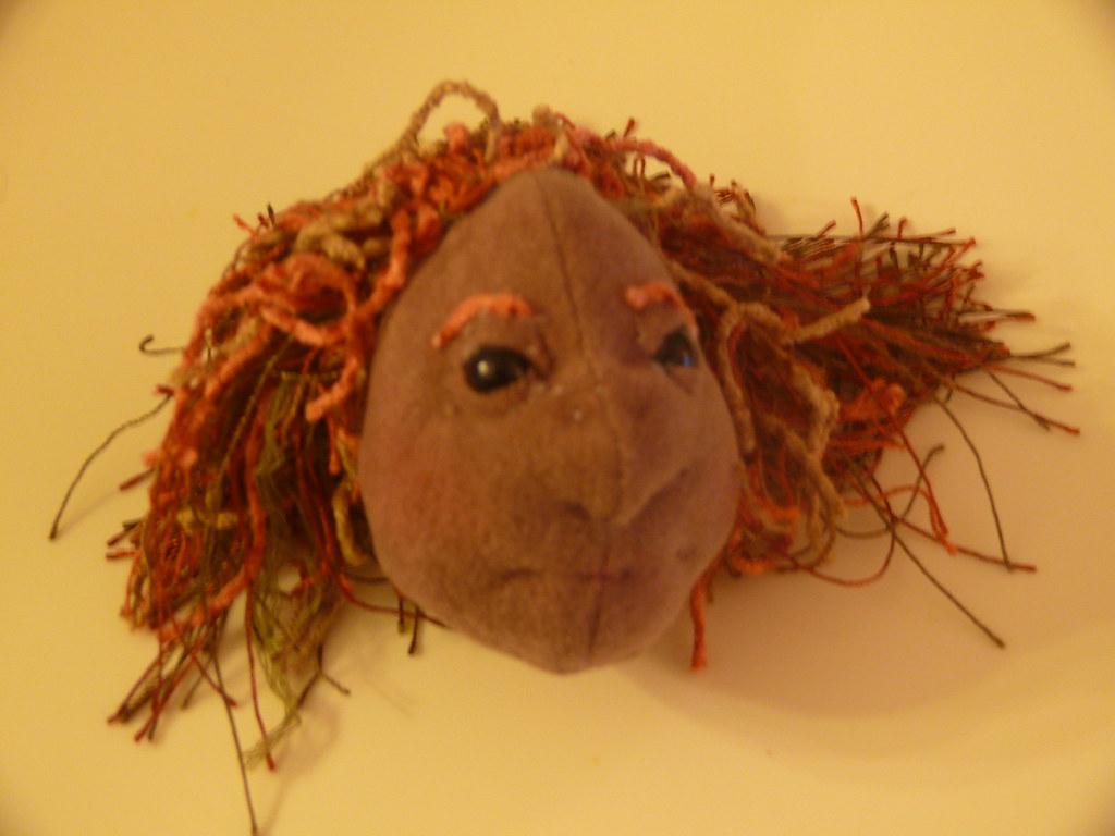 Cloth Marionette Head