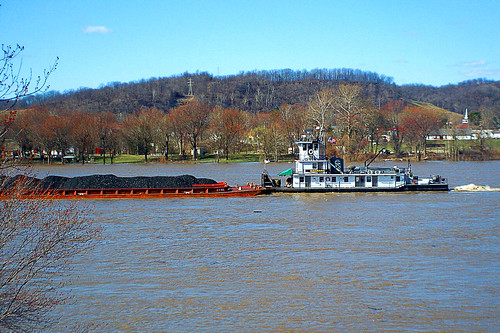 ohio water river geotagged boat high wv westvirginia coal barge ohioriver rcvernors