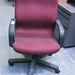 Wide swivel chair
