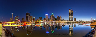 Brisbane dawn panorama | by mudge.stephen