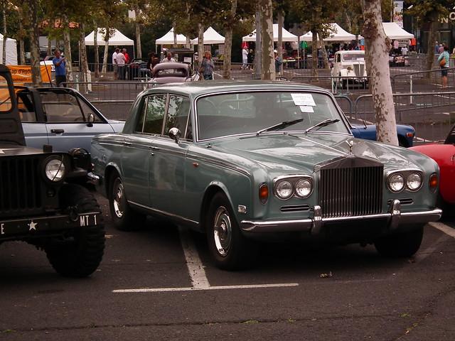 Rolls Royce Silver Shadow Expo Les Belles du Cap Le Cap d'Agde (34 Hérault) 24-09-11a
