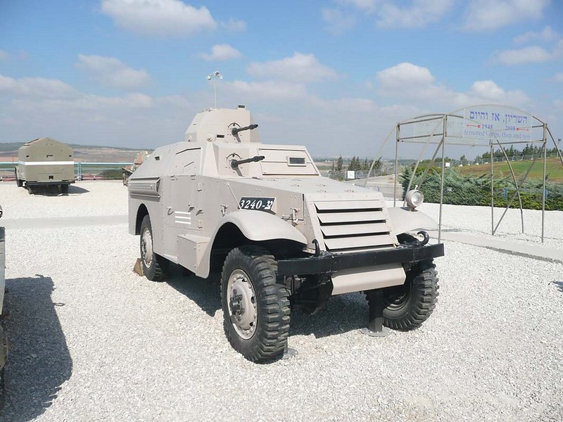 M3 Scout Converted into an Armored Car 1