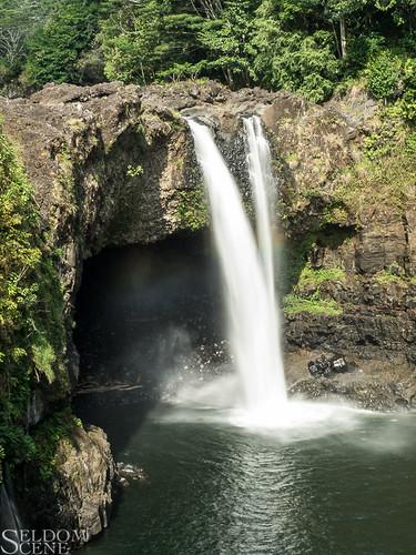 travel geotagged hawaii waterfall hilo rainbowfalls
