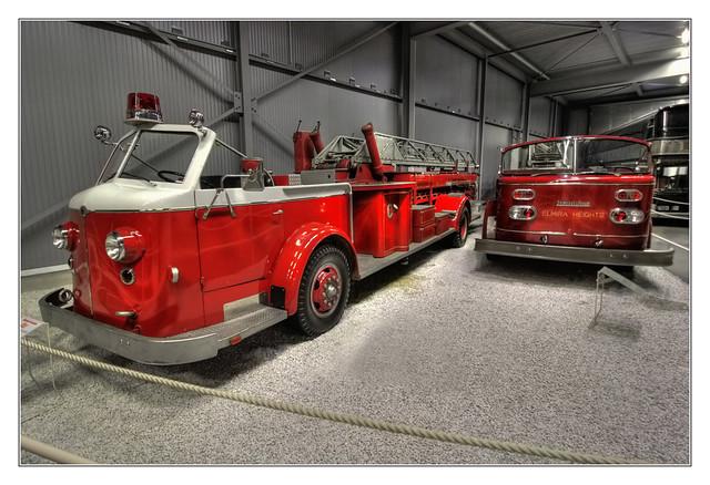 Speyer - Technikmuseum Speyer - American La France Feuerleiter 1952