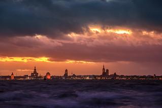 Stralsund im Sturm
