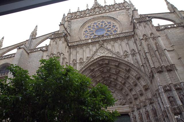 Puerta de la Asunción.Catedral de Sevilla.