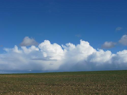 Cloudscape near Dunbridge Hill SWC Walk 58 Mottisfont and Dunbridge to Romsey taken by Karen C.