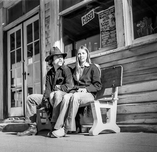 Randsburg couple, May 1973