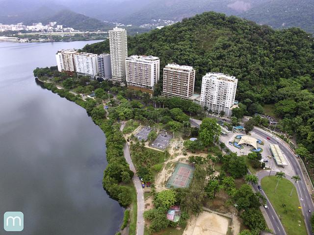 Lagoa no Rio de Janeiro