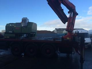 New lathe arrives   by AdeV