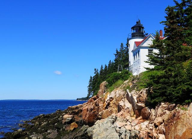 Maine Bass Harbor Lighthouse