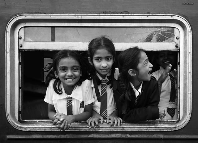 School trip by train
