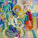 La grande portugaise (1916) - Robert Delaunay (1885 - 1941)