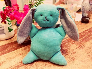 Happy Easter - from Mr Mooshy-Belly who was made today
