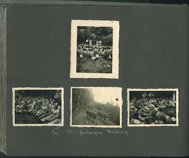 Archiv L036 Landjahr, Im Mädchenlager Rehburg, 1939