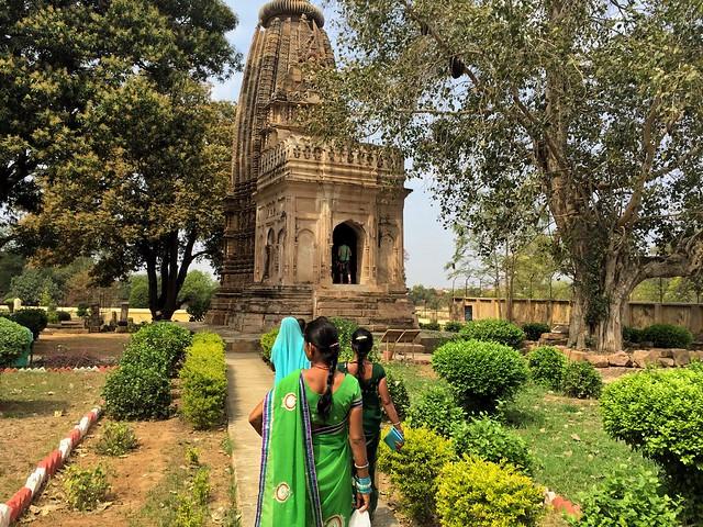 Uno de los templos de Khajuraho en India