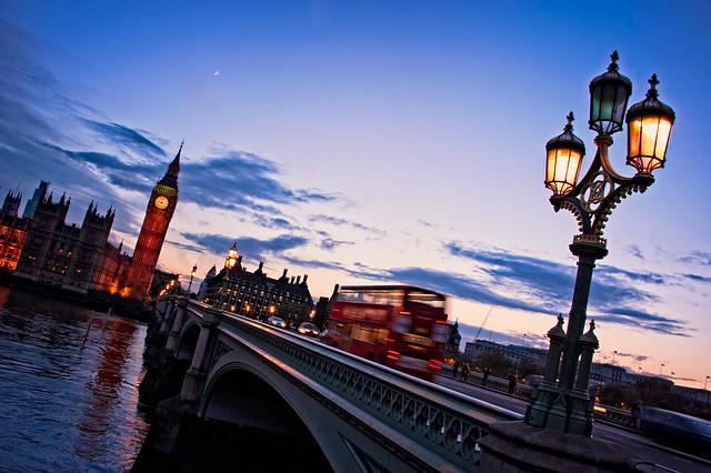 London tilted
